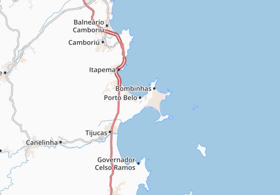 Porto Belo Map