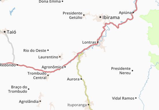 Mapas-Planos Rio do Sul