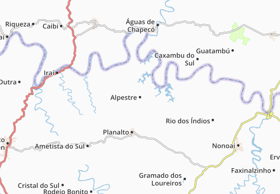 Carte-Plan Alpestre