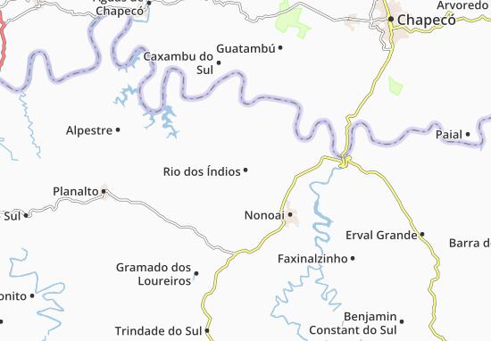 Mappe-Piantine Rio dos Índios