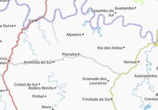 Carte-Plan Planalto