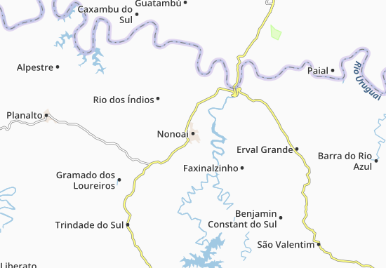 Mappe-Piantine Nonoai