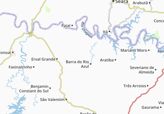 Mappe-Piantine Itatiba do Sul
