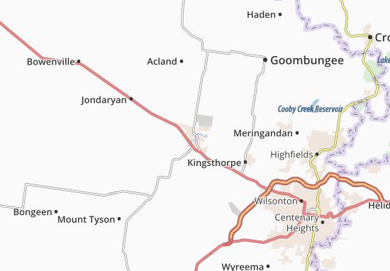 Oakey Map