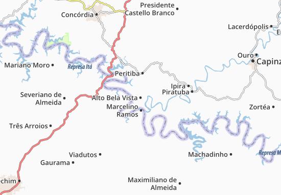 Mappe-Piantine Alto Bela Vista