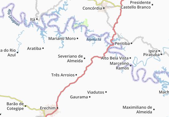 Mappe-Piantine Severiano de Almeida