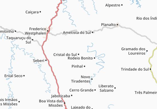 Mappe-Piantine Cristal do Sul