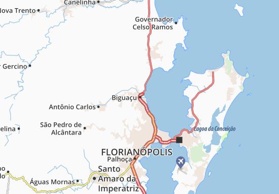Biguaçu Map