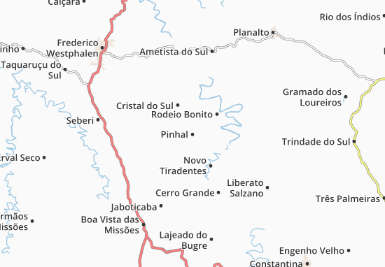 Mappe-Piantine Pinhal