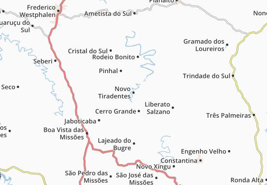 Mappe-Piantine Novo Tiradentes