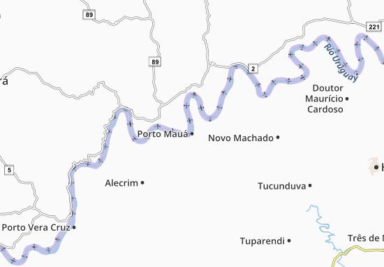 Carte-Plan Porto Mauá