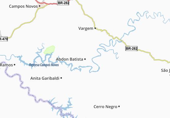 Carte-Plan Abdon Batista