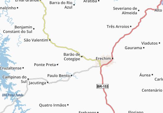 Mappe-Piantine Barão de Cotegipe