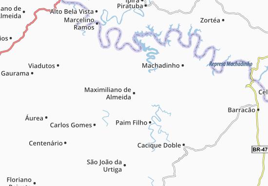 Mappe-Piantine Maximiliano de Almeida
