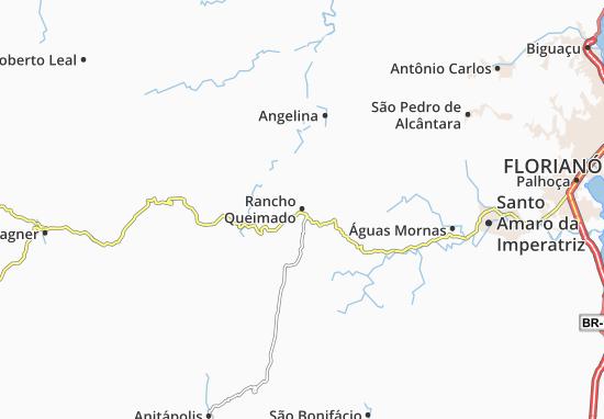Rancho Queimado Map