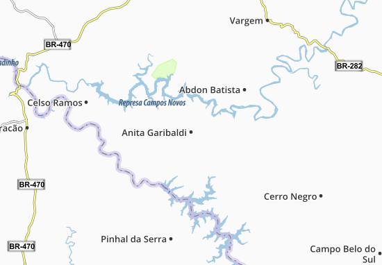 Carte-Plan Anita Garibaldi
