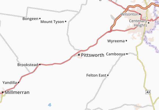Pittsworth Map