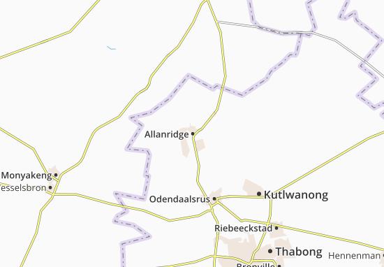 Carte-Plan Allanridge