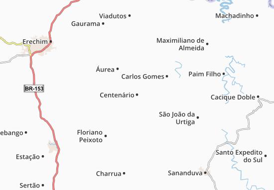 Mappe-Piantine Centenário