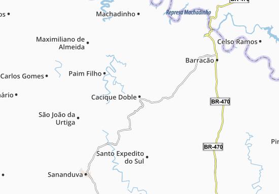 Mappe-Piantine Cacique Doble