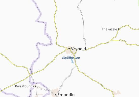 Vryheid Map
