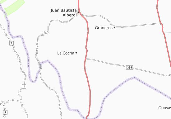 La Cocha Map