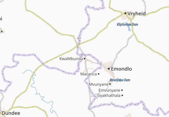 KwaMbunda Map