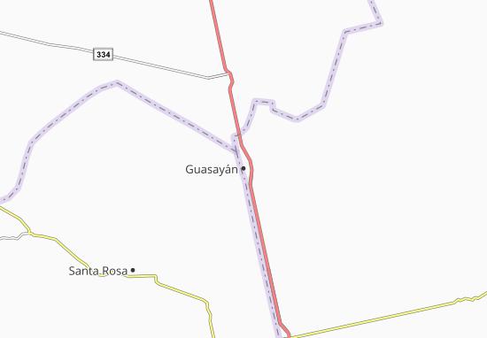 Carte-Plan Guasayán