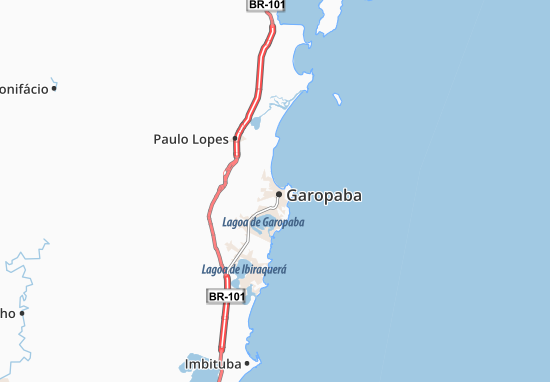 Mapas-Planos Garopaba