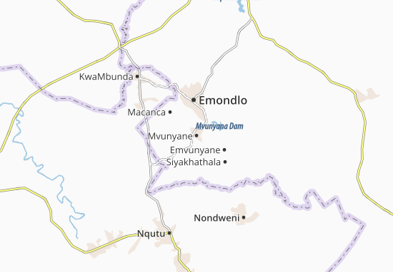 Mvunyane Map