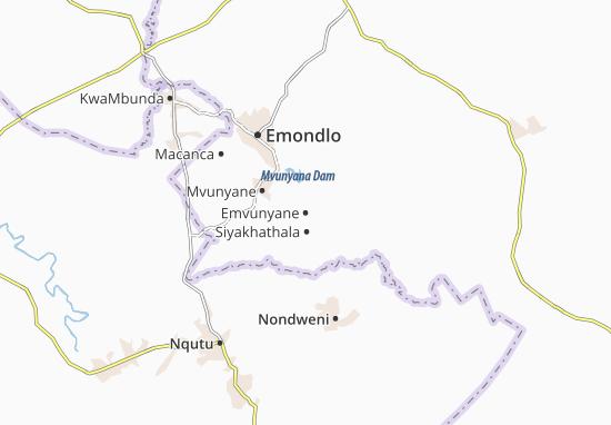Emvunyane Map