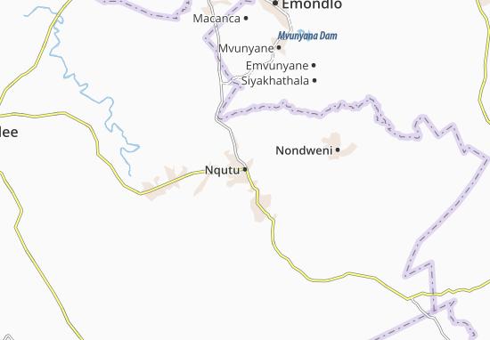 Nqutu Map