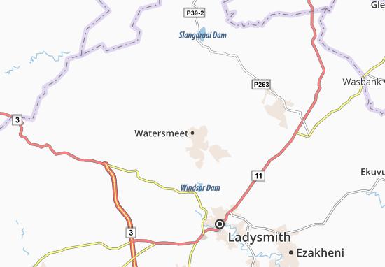 Watersmeet Map