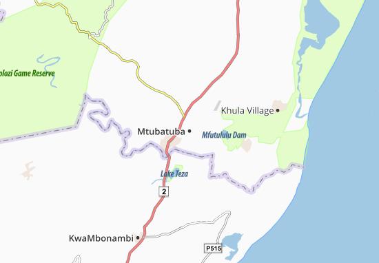 Mtubatuba Map