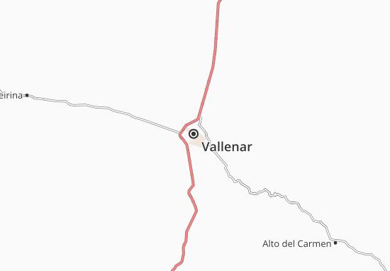 Vallenar Map