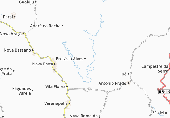 Mapas-Planos Protásio Alves