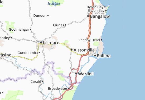 Carte-Plan Alstonville