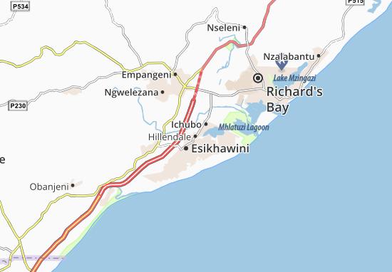 Hillendale Map
