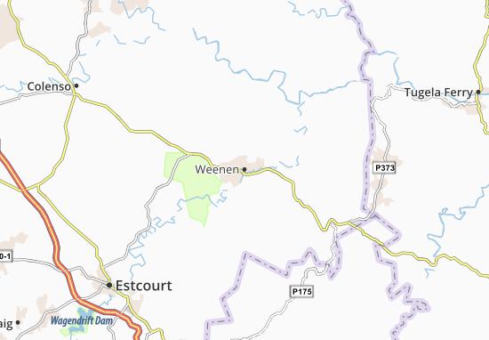 Weenen Map