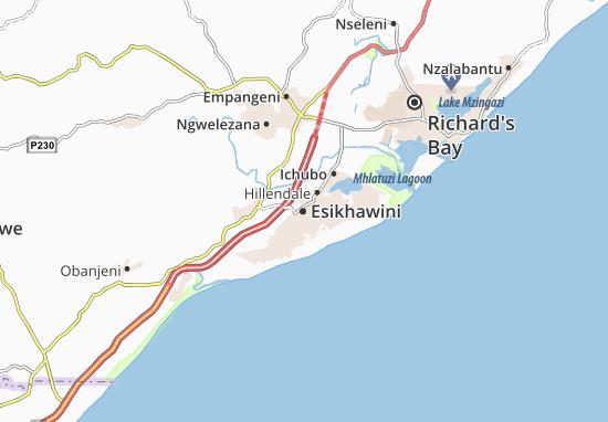 Esikhawini Map