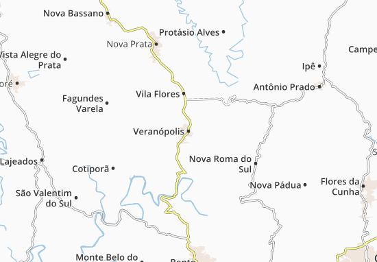 Mapas-Planos Veranópolis