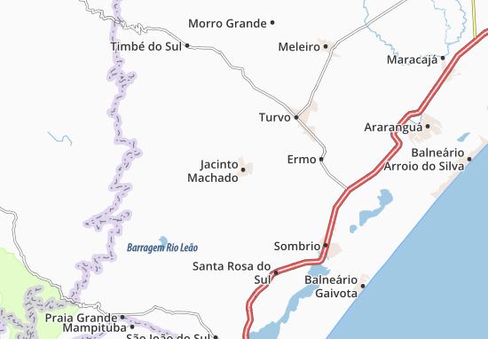 Jacinto Machado Map