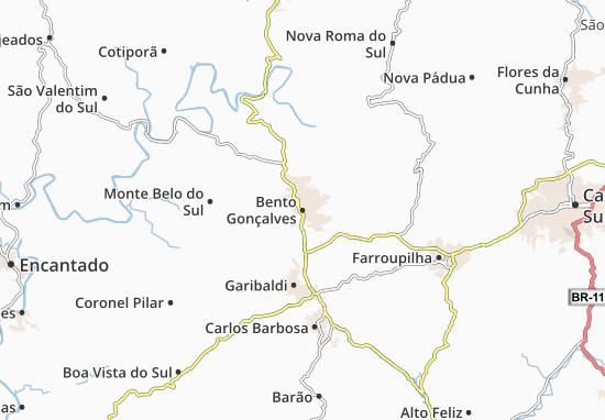 Bento Gonçalves Map