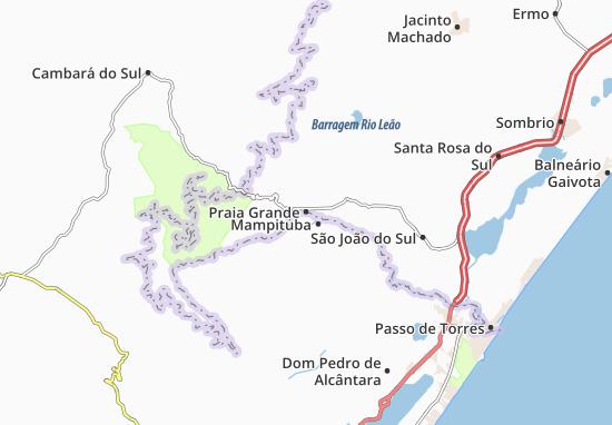 Praia Grande Map