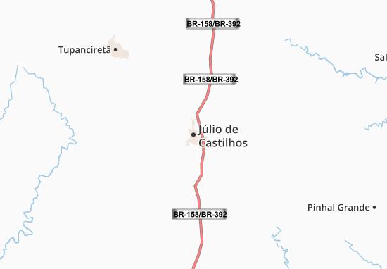 Mapas-Planos Júlio de Castilhos