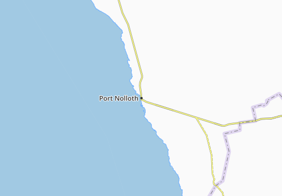 Carte-Plan Port Nolloth