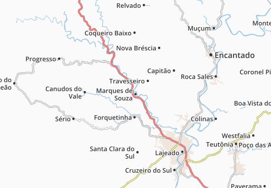 Carte-Plan Marques de Souza