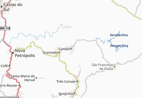 Mapas-Planos Canela