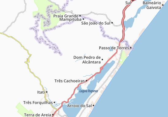 Morrinhos do Sul Map