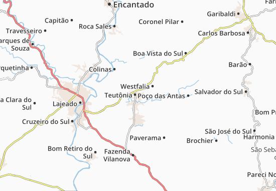Carte-Plan Teutônia